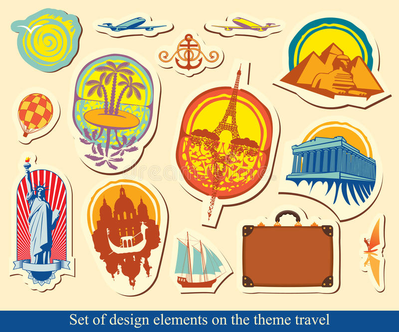 Download Tourist industry stock vector. Image of africa, design - 24741187