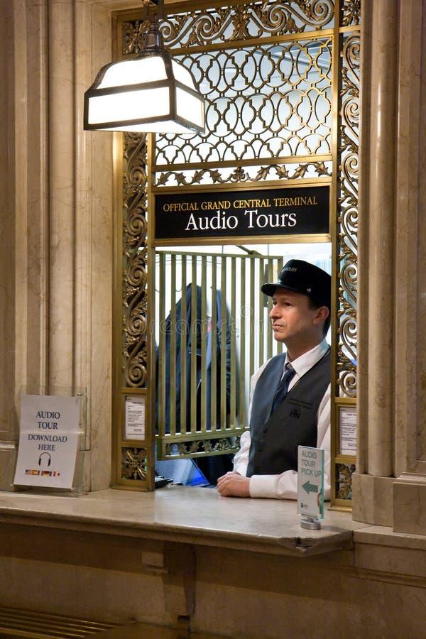Tourist information desk stock images