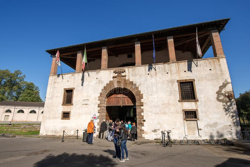 Tourist information point - Lucca Tuscany Italy royalty free stock images