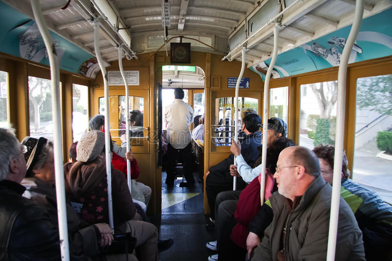 Download Tourist Inside Cable Car Editorial Photography - Image: 18698502
