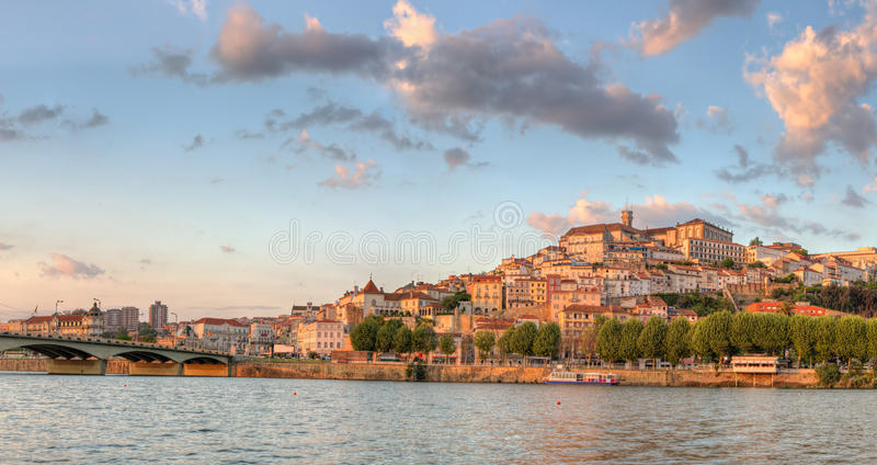 Tourist magnet Coimbra, Portugal stock photography