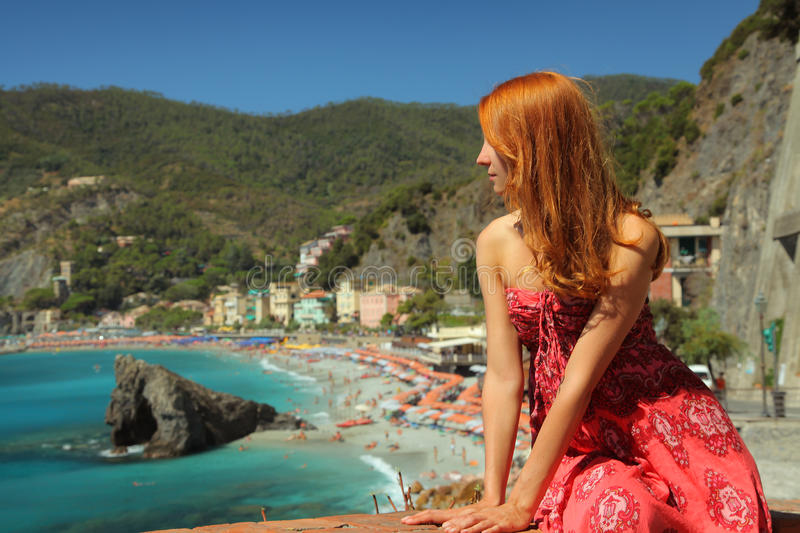 Download Tourist In Moterosso Royalty Free Stock Photo - Image: 26740855