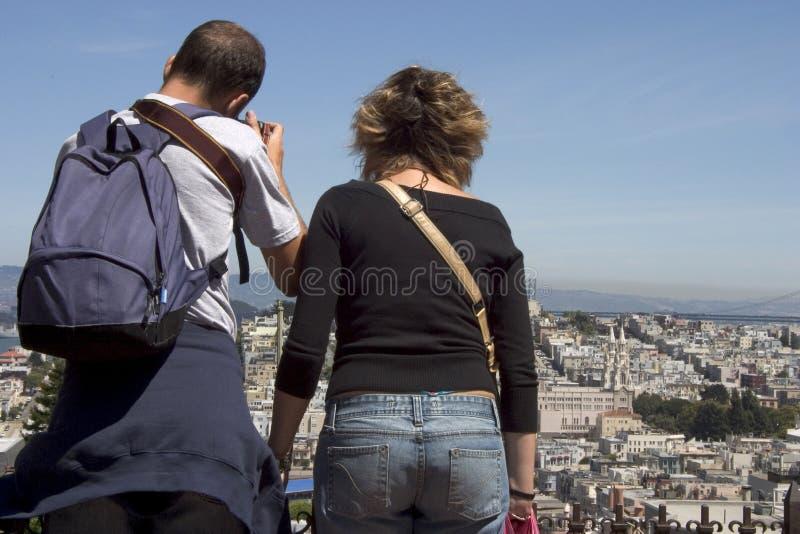 Tourist Photographers Royalty Free Stock Image