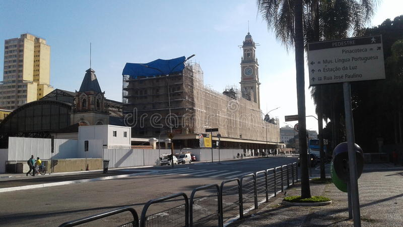 tourist point of São Paulo stock images