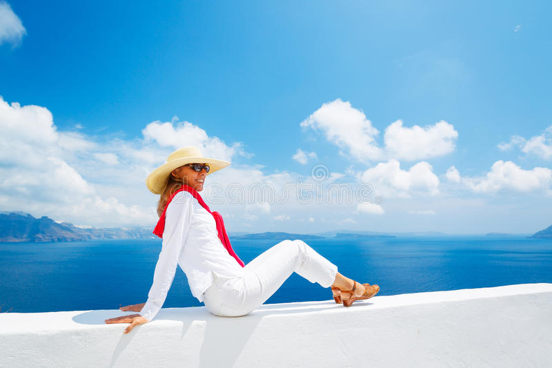 Download Tourist Relaxing On Vacation Stock Image - Image: 25499043