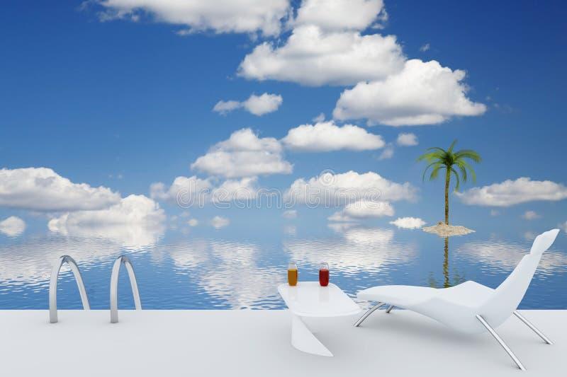 Download Tourist resort stock illustration. Image of coastline - 10173722