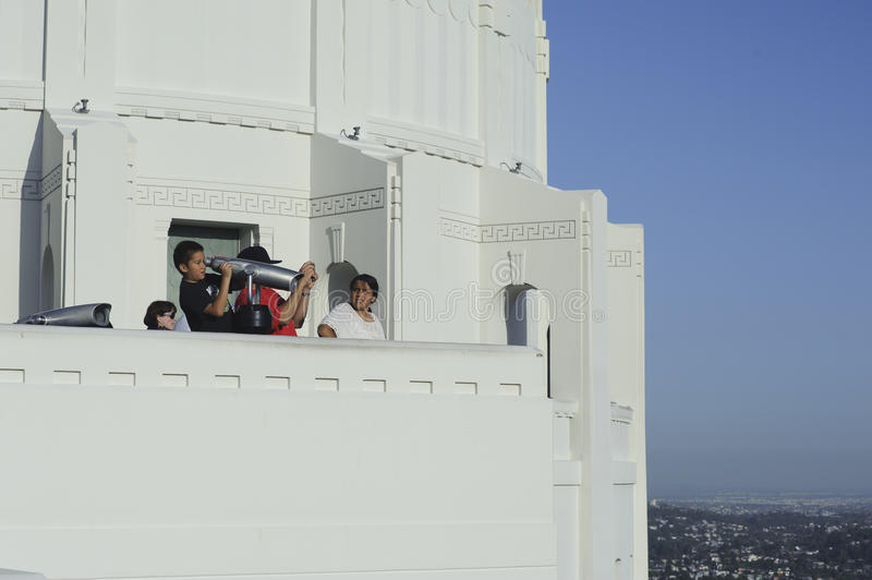 Download Tourist Sightseeing At Griffith Observatory Editorial Photo - Image: 24568416