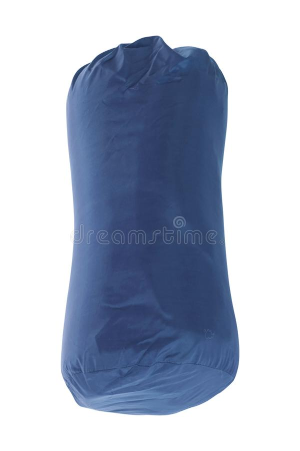Tourist sleeping bag isolated royalty free stock images