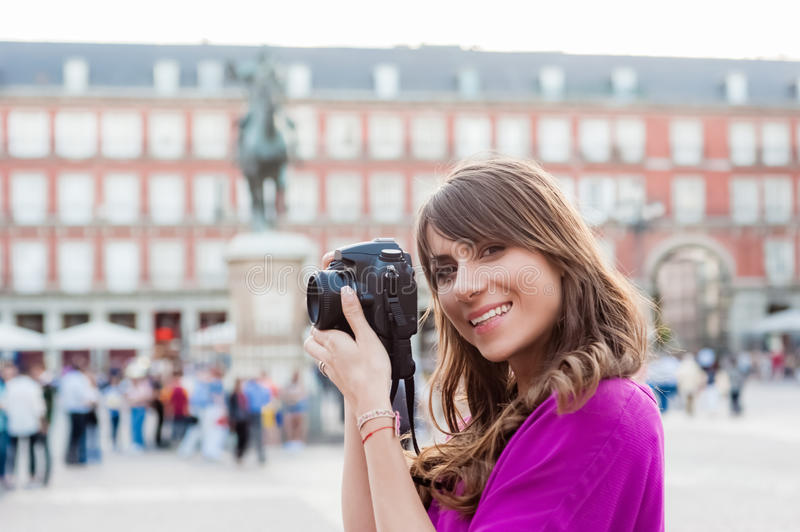 Tourist in Spain. royalty free stock photos