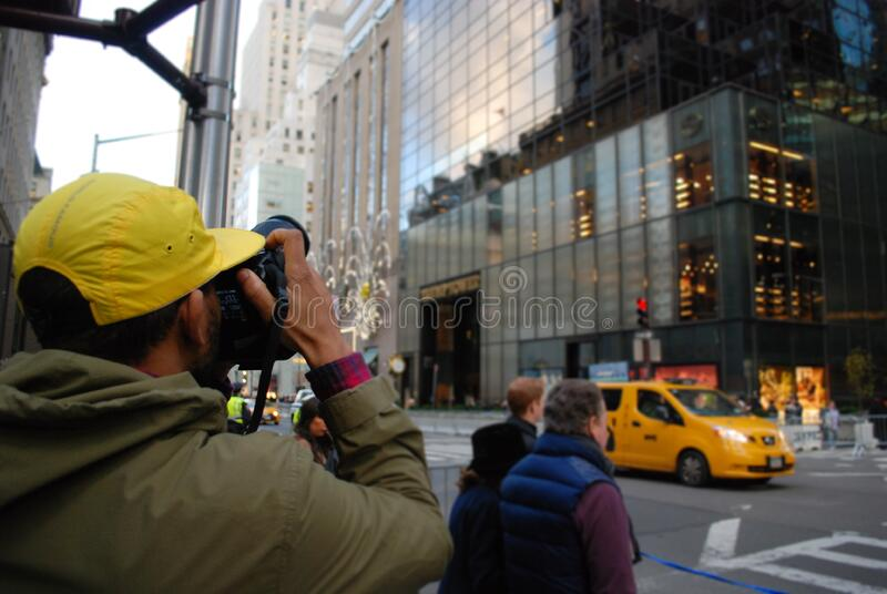 Tourist Taking Photos royalty free stock photos
