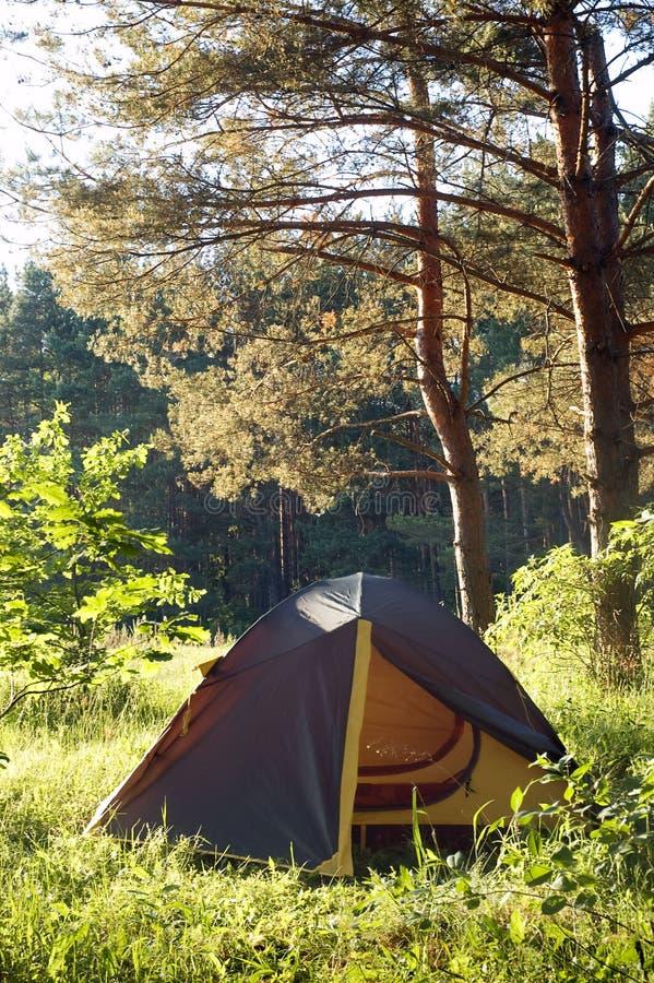 Download Tourist tent stock photo. Image of adventure, remote - 21955060