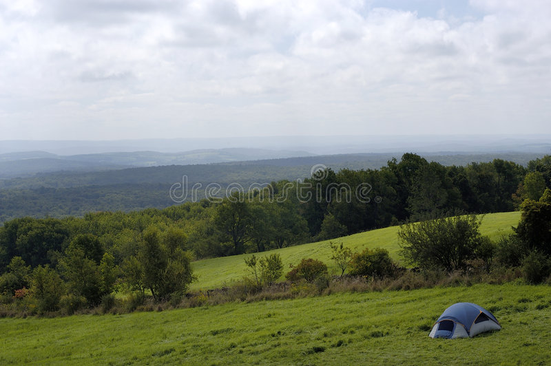 Download Tourist Tent stock photo. Image of camping, field, appalachian - 77294