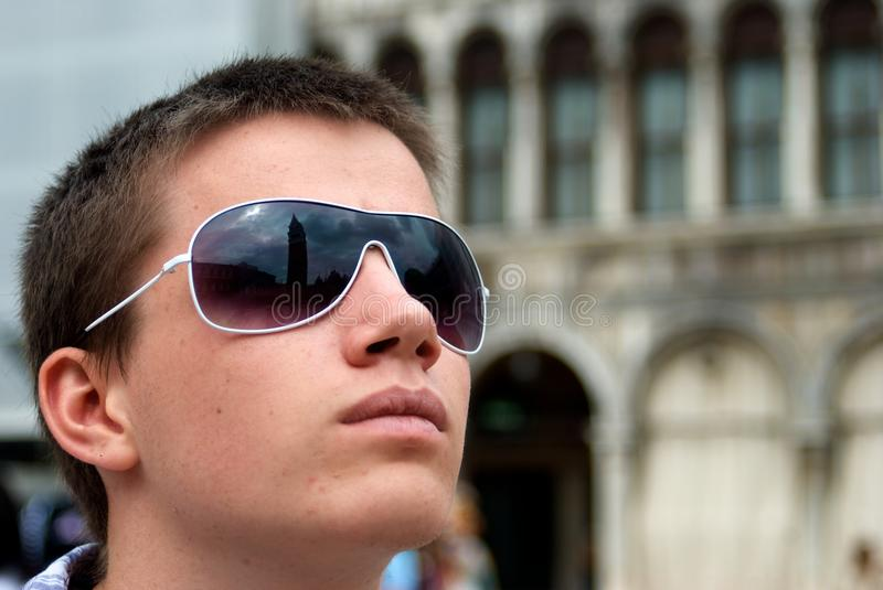 Tourist Vision royalty free stock photography