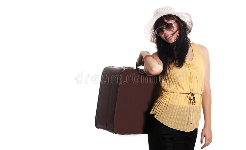 Tourist Young Girl Stock Photography