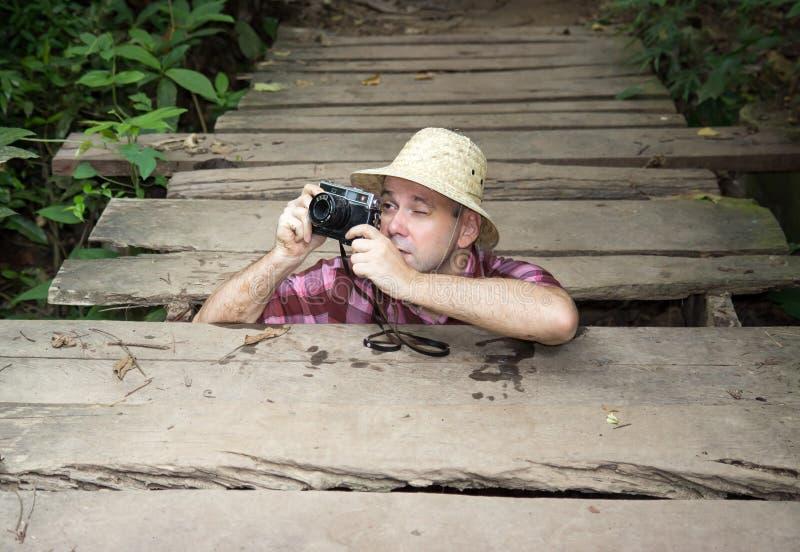 Touriste photo libre de droits