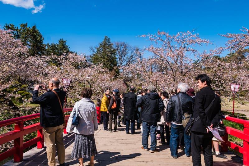 Download Touriste Au Parc De Château De Hirosaki Photographie éditorial - Image du scénique, bleu: 76089232