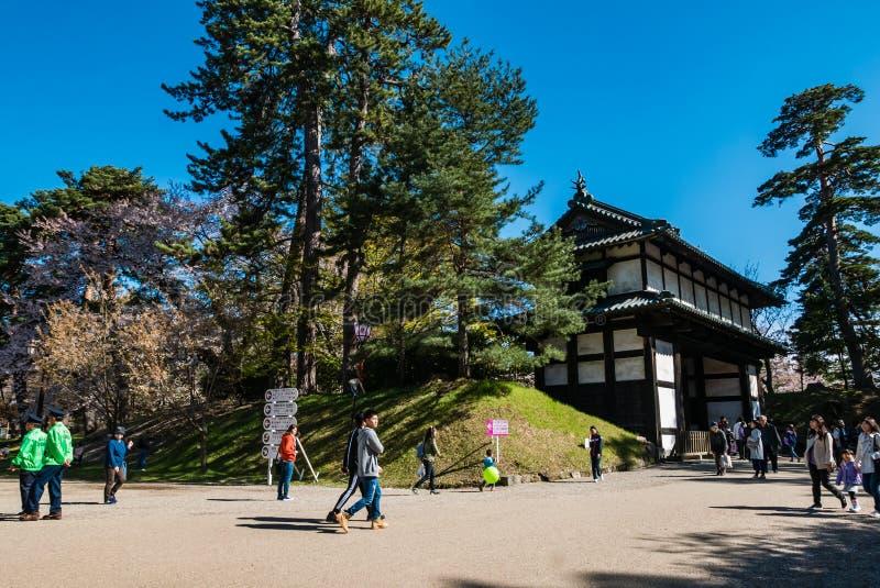 Download Touriste Au Parc De Château De Hirosaki Photo stock éditorial - Image du paysage, rose: 76089693