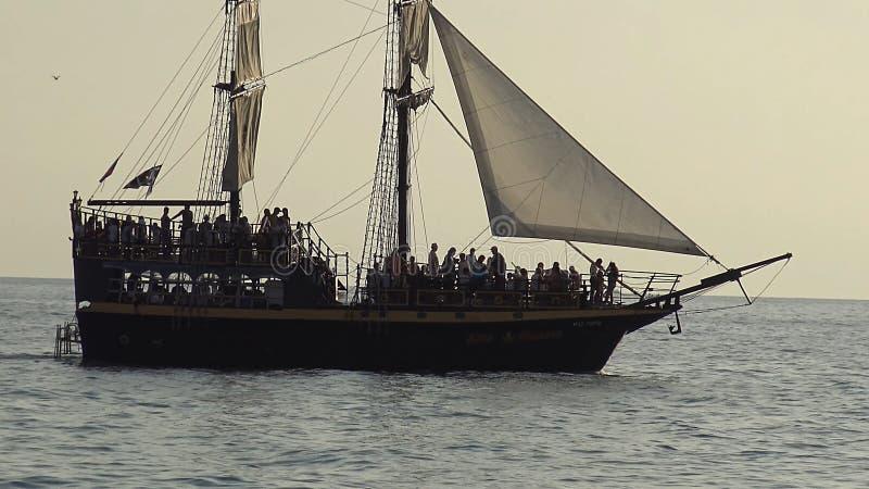 Touriste Azov de bateau images stock