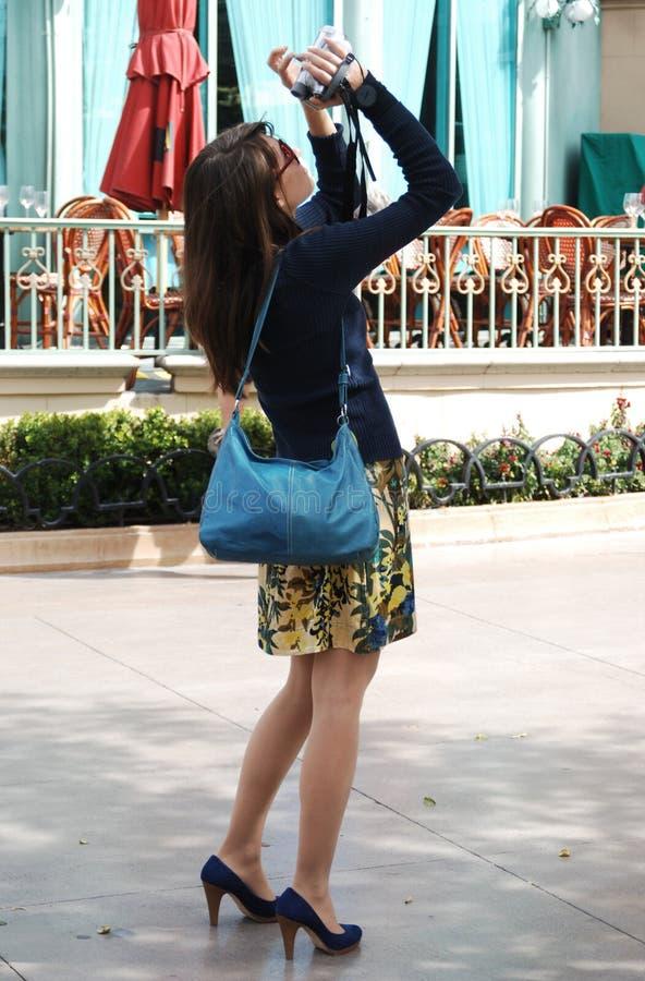 Touriste d'été photos stock