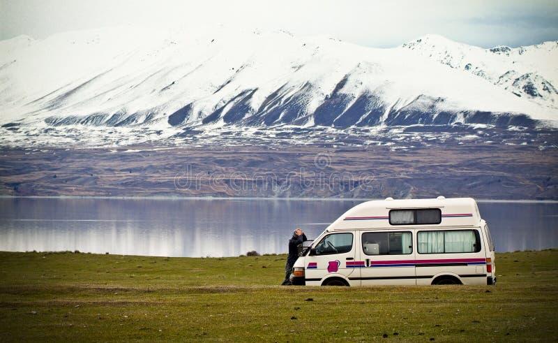 Touriste perdu photo libre de droits