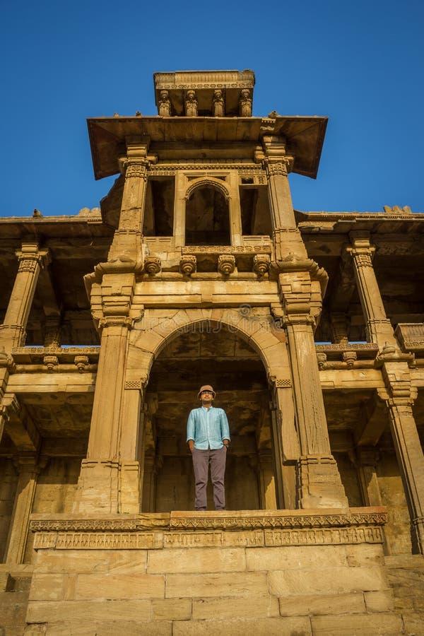 Touriste @ Sarkhej Roja images stock
