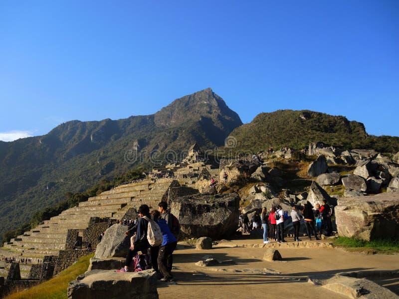 Download Touristes Dans Machu Picchu, Pérou Photo éditorial - Image du héritage, célèbre: 77155716