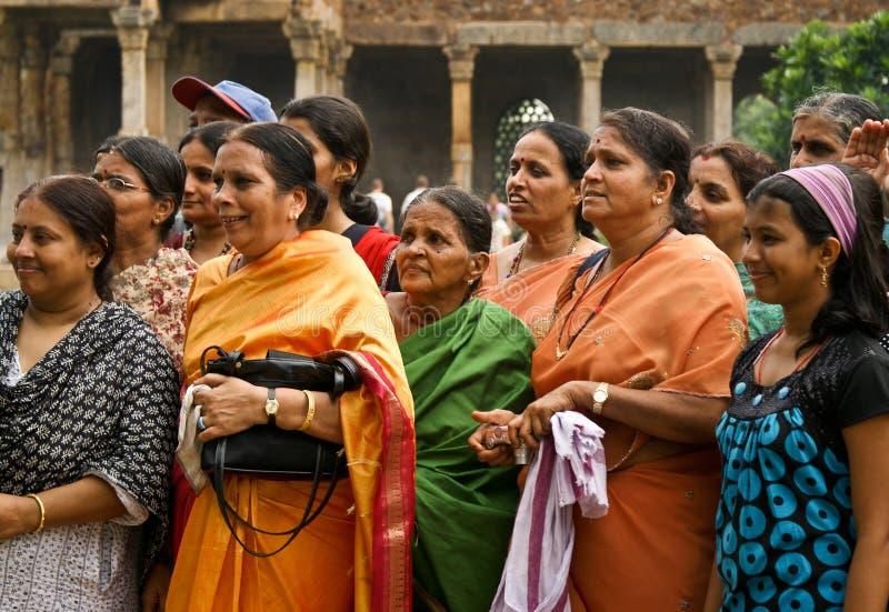 Touristes de femmes en Inde image stock