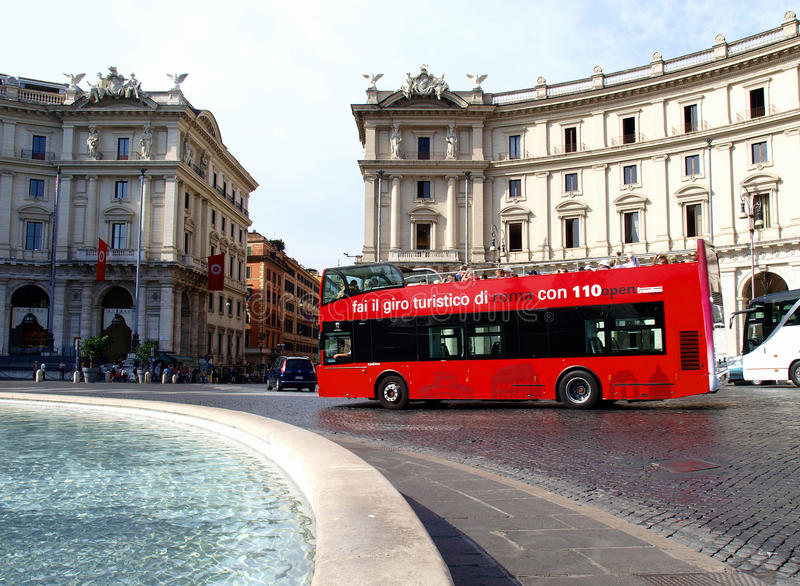 Download Touristic bus editorial photography. Image of italy, history - 21121922