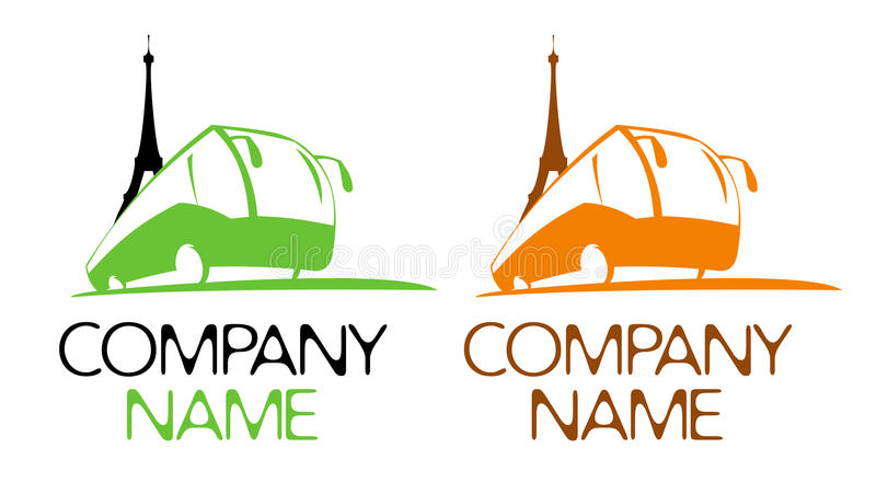 Download Touristic symbol with bus stock vector. Illustration of banner - 30414697