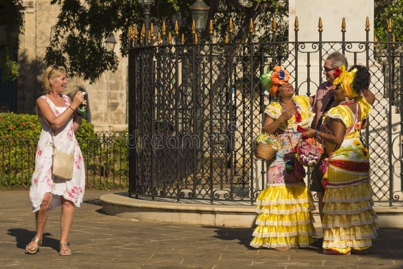 Touristische Falle Havana stockfoto