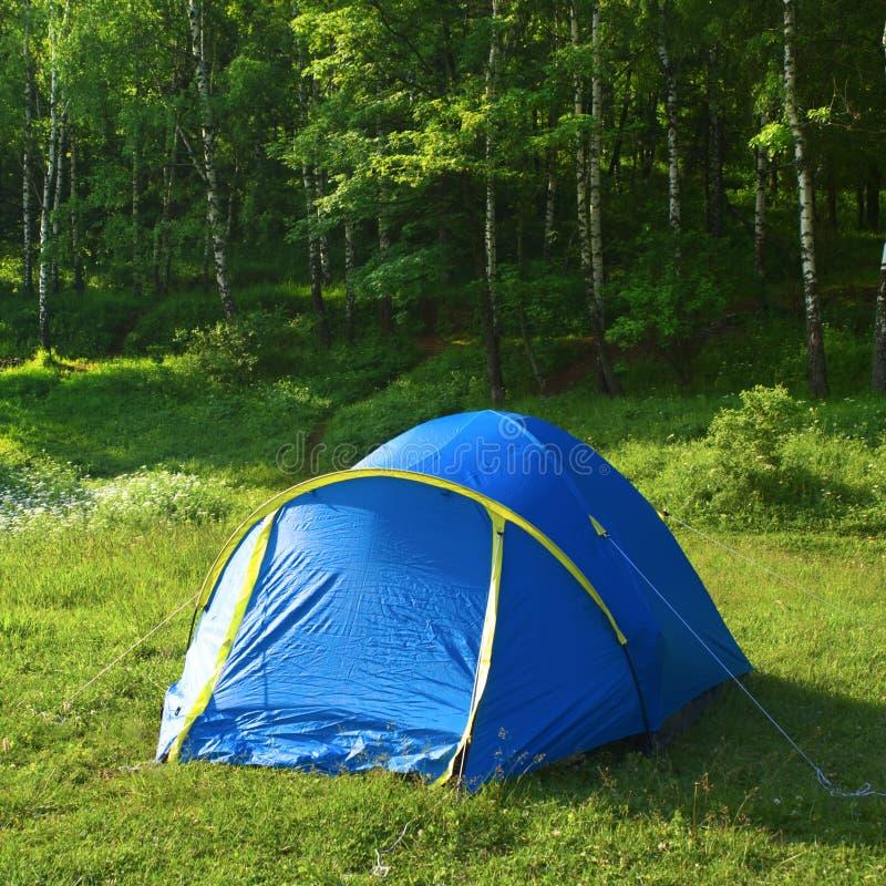 Touristisches Zelt lizenzfreie stockbilder