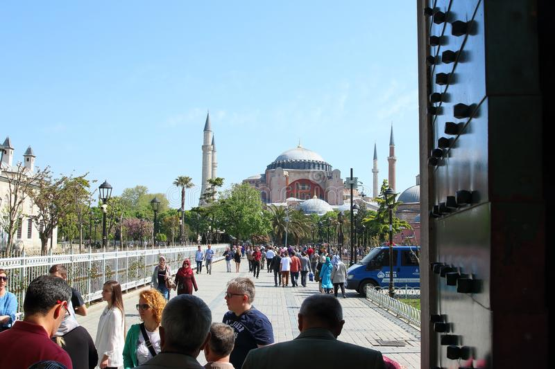 Hagia Sophia Museum, Istanbul, Turkey royalty free stock photo