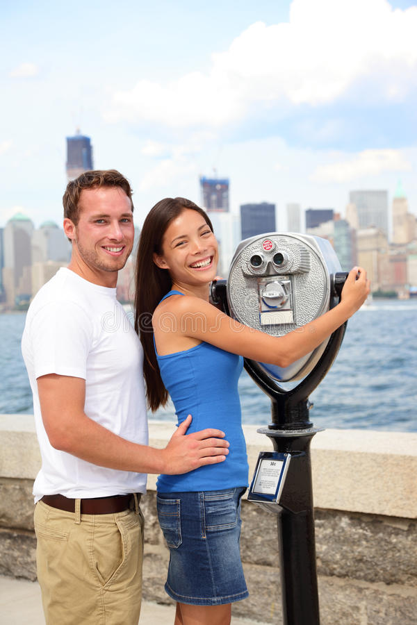 Download Tourists Couple - Tourism New York, USA Stock Image - Image: 28750713