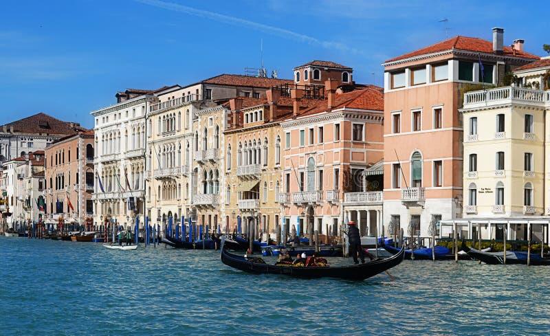 Gondola in Venice stock image