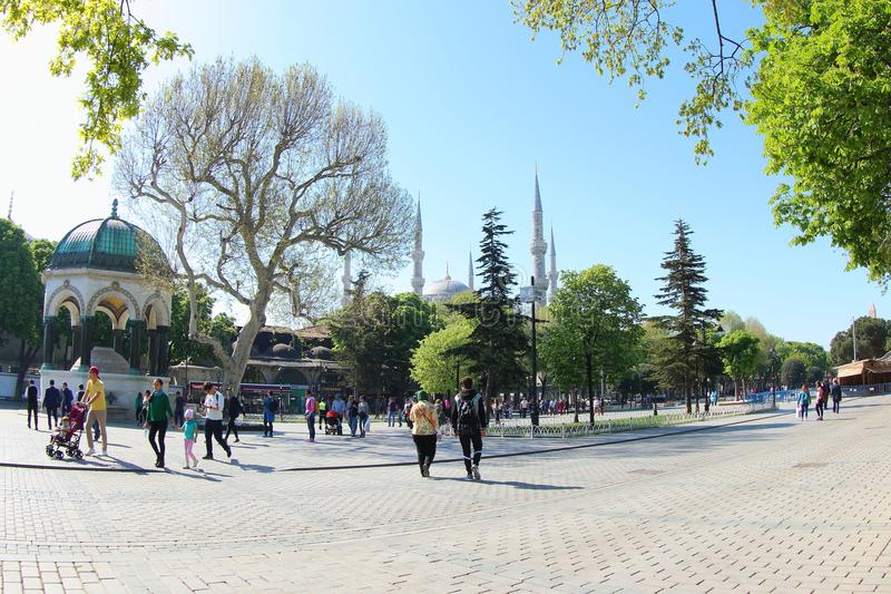 Sultanahmet Square stock photography