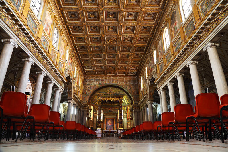 Download Tourists At Papal Basilica Of Saint Mary Major Stock Photo - Image: 17888416