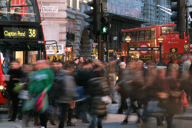 Download Tourists In Piccadilly Circus, 2010 Editorial Image - Image: 24370980