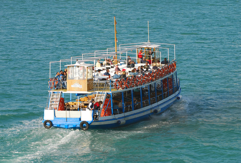 Download Tourists On Sightseeing Boat Editorial Photo - Image: 20088051