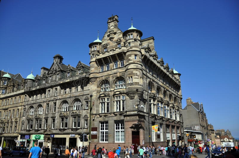 Download Tourists On The Street Of Edinburgh Editorial Photography - Image: 23569187