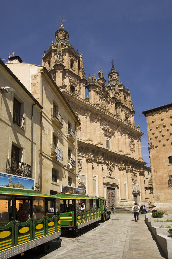 Tourists In The Streets Of Salamanca Spain Editorial Image Image