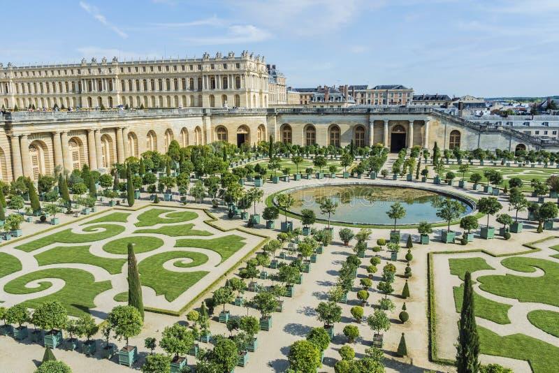Chateau De Versailles Gardens In Paris, France. Editorial Photo ...