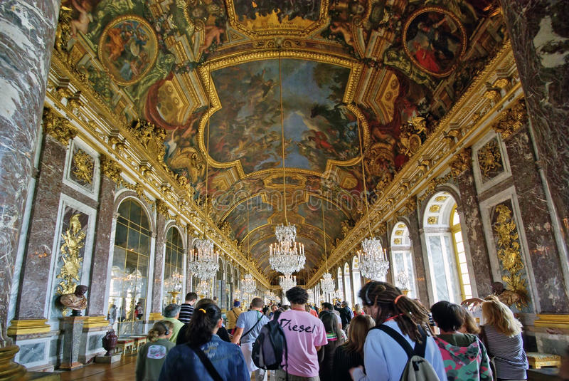 Download Tourists Visiting Versailles Palace Editorial Stock Photo - Image: 14340703