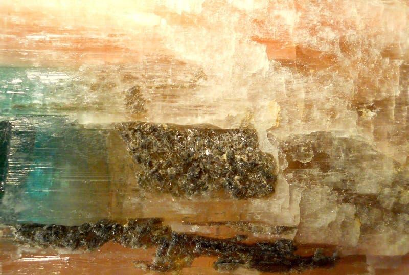 Tourmalin crystal stock photo