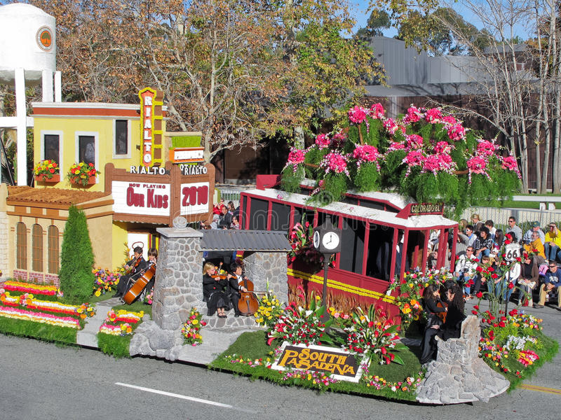 Tournament Of Roses 2010 Editorial Image