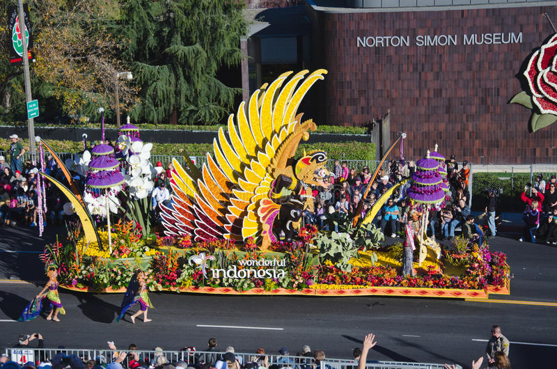 Tournament of Roses Parade royalty free stock photography