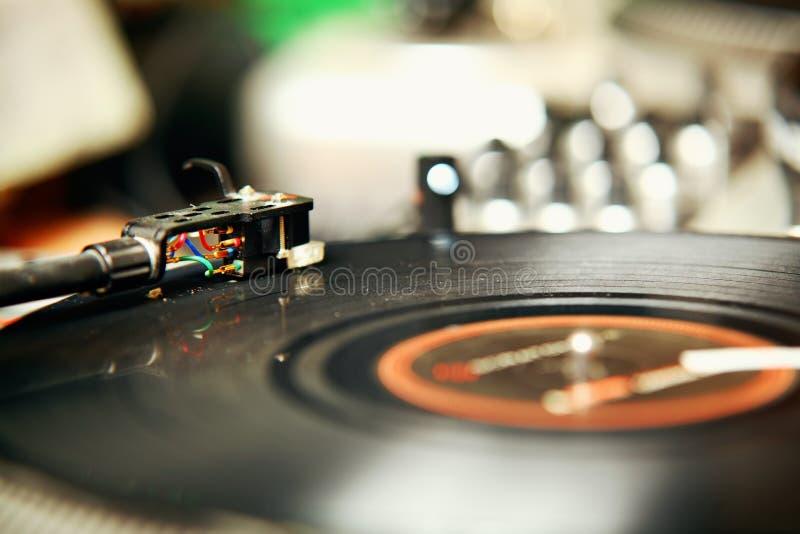 Tourne-disque image stock