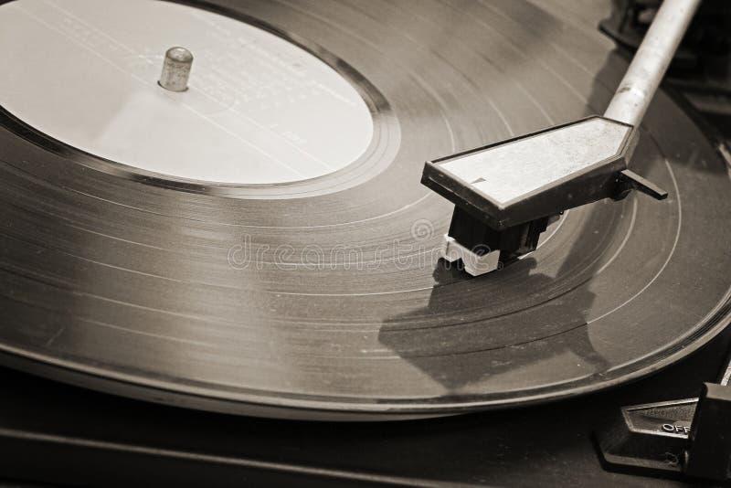 Tourne-disque photo libre de droits