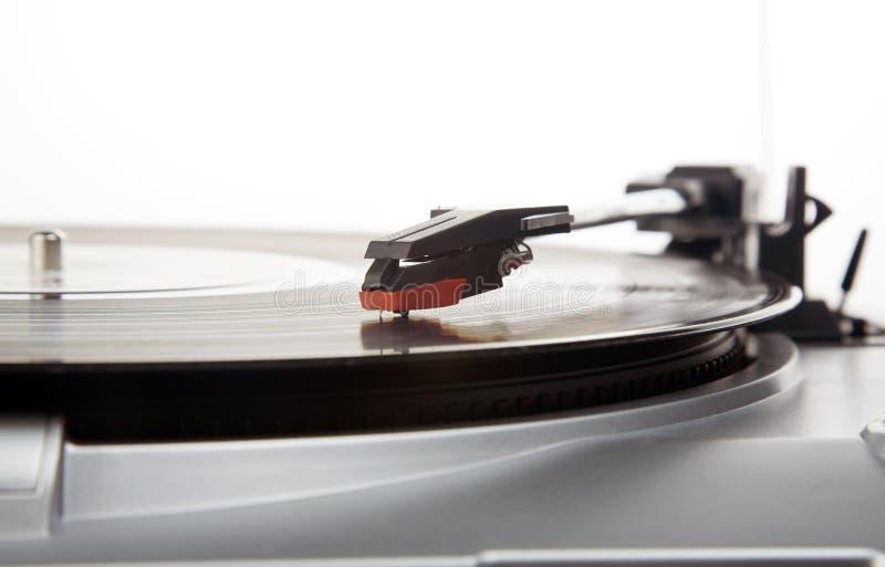 Tourne-disque de vinyle image stock