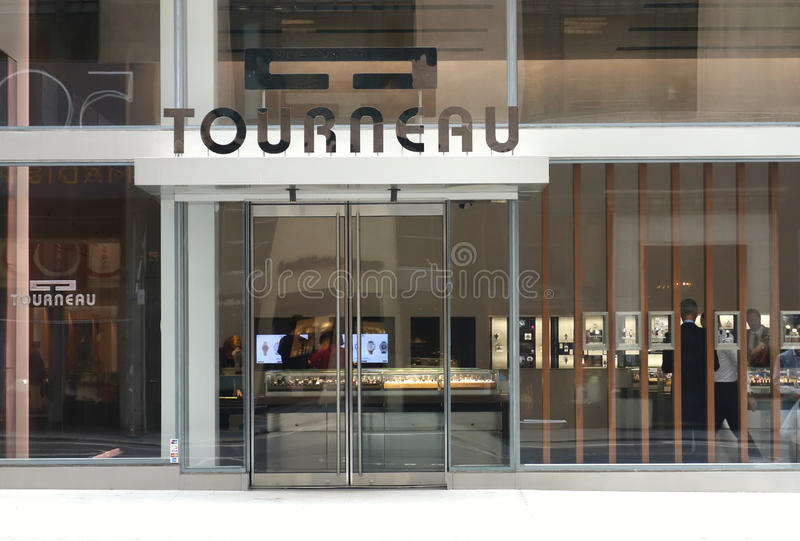 The Tourneau Watch Store On 57th Street In Manhattan New