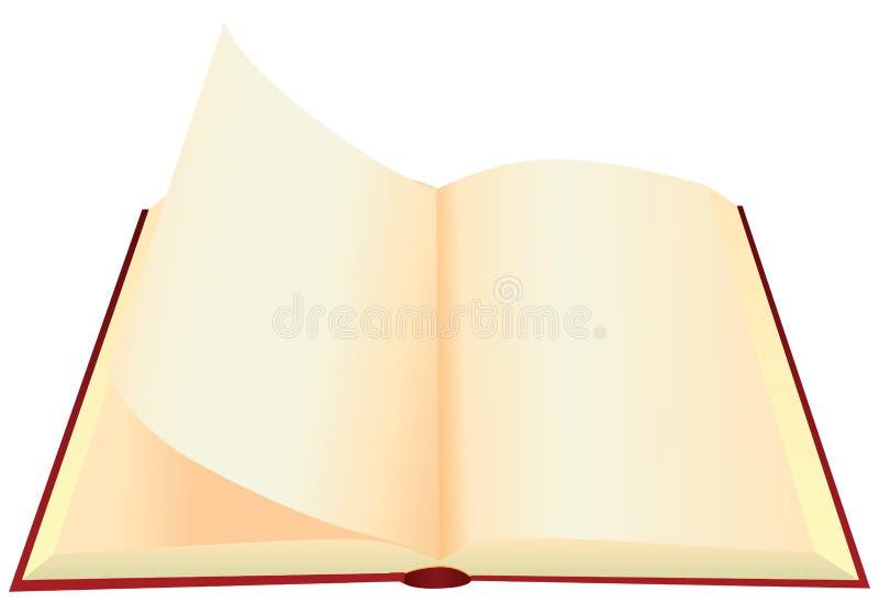 Tournez les pages illustration stock